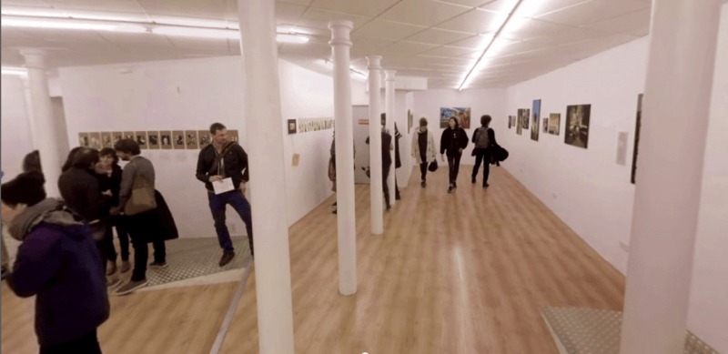 Vídeo 360: Inauguración expo Swinton Gallery