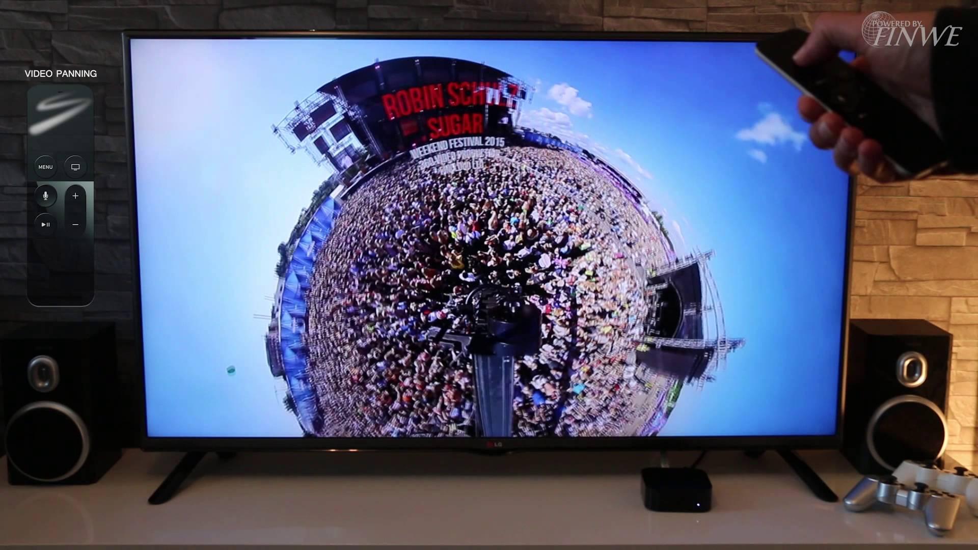 ¡Ya se pueden ver vídeos 360º en TV!