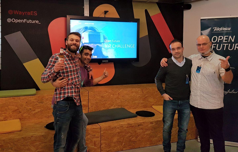 TransReal360 gana el reto Telefónica Open Future_ VR Challenge del grupo Mahou San Miguel